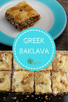 Greek Baklava is not as hard to make as you might think.  This is the traditional Greek Baklava recipe.  Everyone will be happy you made it! #MediterraneanDiet #Baklava Greek Desserts, Greek Recipes, Greek Sweets, Diet Desserts, Keto Recipes, Cooking Recipes, Greek Baklava, Baking With Olive Oil, Mediterranean Desserts