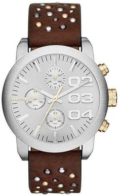 30bbdab9cd8 Diesel Flare DZ5433 Women s Studded Leather Watch Diesel Uhr