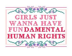 People think that feminism is about women proving to the world that women are superior. This idea is as silly as sexism is. The fact of the matter is, is that feminism is about teaching the world that women should have the same fundamental human rights as men. Having different DNA and genitalia should never take away from someones worth as a human being.