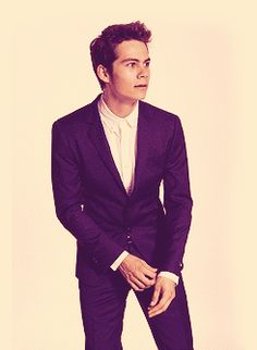 Cutest dimples goes to #DylanO'Brien