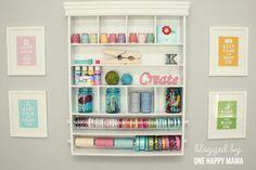 so colorful. so organized!
