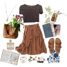 A fashion look from May 2016 by the59thstreetbridge featuring Topshop, Madewell, Billabong, Solow, Library of Flowers and Burt's Bees