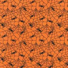 Affordable Designer Cotton Quilting and Sewing Fabric by MaddysFabricStash Halloween Fabric, Halloween Patterns, Halloween Items, Halloween Spider, Holidays Halloween, Vintage Halloween, Word Patterns, Printable Paper, Cotton Quilts