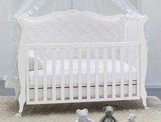 babybett / umbaubett retro design rinascimento 63x123 | for baby