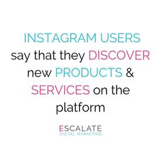 Simply by being on Instagram, brands can make a positive impression on potential shoppers. Instagram plays a key role in every step of the purchase process. People use the platform to discover whats trending, research products before buying & decide whether to make a purchase. Stay ahead of competitors by creating an immersive shopping experience for your consumers experimenting with different campaign styles, branding ideas, promote discovery of your brand etc. & watch your metrics grow! 📈 Online Marketing Agency, Digital Marketing, Purchase Process, Dublin City, Branding Ideas, What's Trending, Plays, Instagram Users, Discovery