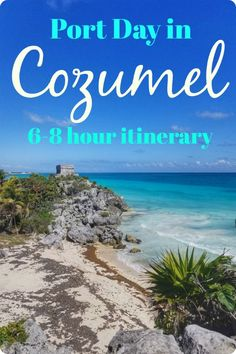 Wondering what to do on your Cozumel port day? Here's the breakdown of what we did and why Find out why you should definitely get off the cruise ship and see Cozumel! Cozumel Mexico Cruise, Cozumel Excursions, Belize Cruise Port, Costa Maya Excursions, Disney Cruise Excursions, Cruise Miami, Jamaica Cruise, Cruise Tips, Cruise Travel