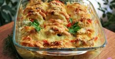 Zapekané kuracie mäso s cuketou a syrom - Receptik.sk Brunch Recipes, Casserole Recipes, Lasagna, Macaroni And Cheese, Chicken Recipes, Cabbage, Food And Drink, Yummy Food, Healthy Recipes