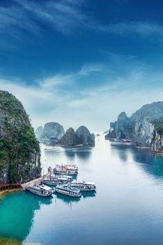 Vietnam With 1,969 islets of hulking limestone and abysmal, eco-friendly amnion that are home to countless floating villages, this is a spot the place time slows to a standstill. captain on a junk baiter or decide upon up a kayak, and get lost in the quieter reaches of this gigantic and interesting nook of the South china Sea.  #travel #travelphotography #travelgram #travelholic   #travelling #traveling #traveller #travels #traveler #travelbook #travellers #travelbag #travelers #travelislife