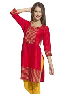 Shop now all the latest Kurti designs for women. Explore Cbazaar's huge collection of party wear and casual wear Indian Kurtis featuring a huge variety. Designer Kurtis Online, Kamiz, Daily Wear, Casual Wear, Cloths, Shop Now, Cold Shoulder Dress, Indian, Sewing