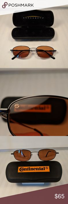 dca686b42a Authentic Serengeti Continental Sunglasses w  Case Like new! You don t see  this