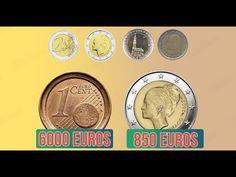 6 Monedas De Euro Que Valen Mucho Más Que Su Precio Nominal - YouTube