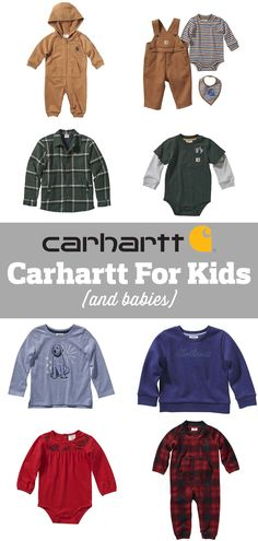 Swag Outfits Men, Baby Boy Outfits, Kids Outfits, Children Clothing, Carhartt, Capsule Wardrobe, Kids Boys, Baby Gifts, Boy Or Girl