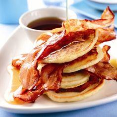 The perfect brunch: New York Buttermilk Pancakes. www.redonline.co.uk