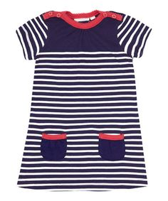 Take a look at this French Breton Stripe Dress - Infant, Toddler & Girls by JoJo Maman Bébé on #zulily today!
