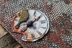 "LoveCreative: ""Гаражный"" блокнот для Обероны и мой МК для ""Чая с корицей"" Cinnamon Tea, Wood Watch, Mini, Leather, Accessories, Wooden Clock, Jewelry Accessories"