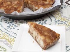 Raw Caramel Apple Pie