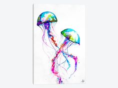 "Narasumas by Marc Allante Canvas Print 26"" L x 40"" H x 0.75"" D - eWallArt"