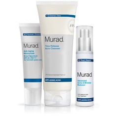 Murad's Anti-Aging Acne Regimen is an adult acne treatment routine for breakouts and wrinkles. Read reviews and buy acne...Price - $120.00-WlTooSvq
