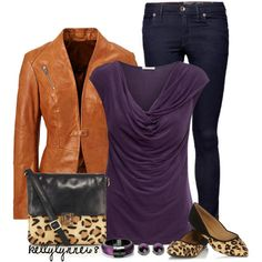 """""""Draped Top + Fitted Jacket + Pointed Toes"""" by kellylynne68 on Polyvore"""