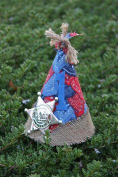 Cowboy 1st Birthday Party Hat  https://www.facebook.com/ohsewwonderfulfanpage