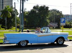 57, 2-tone Ford ragtop. Still pretty and on the road.