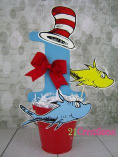 Dr. Seuss Centerpiece
