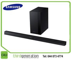 Raise the bar of dynamic in-home audio with the Samsung Soundbar H450. It boasts 290 watts of output power and Dolby Digital for an exceptionally cinematic sound experience during any movie, show or event you watch. Available from CAW Third Generation. #3rdgen #lifestyle #samsung