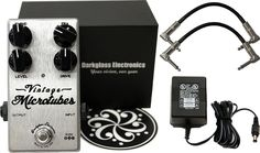 Darkglass Electronics Darkglass Electronics Vintage Microtubes Bass Overdrive w/ Power Supply and Patch Cables 2014 WITH FREE 3-DAY DOMESTIC SHIPPING!