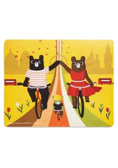 Click and Swag Mouse Pad in Bears