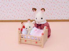 Amazon.com: Sylvanian Family 2929 Crib for Doll's House: Toys & Games
