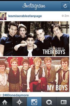 Although I do like One Direction, I prefer my Barricade Boys.