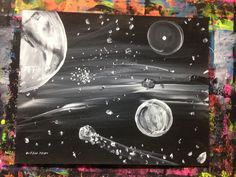 https://flic.kr/p/tD6BSd | Space painting art by Gregg Griffin