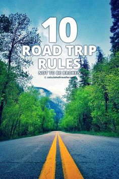 10 Road Trip Rules definitely not to be broken the next time you go on a driving adventure in your car! Road Trip Packing, Us Road Trip, Road Trip Essentials, Road Trip Hacks, Travel Trip, Car Travel, Solo Travel, Travel Usa, Adventure Travel
