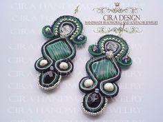 Soutache earrings by Cira Design - SOUTACHE 2013