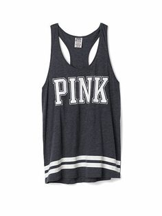Sporty Racerback Tank PINK! got this today!