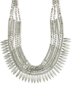 Gigi Spike Bib Necklace from The Shopping Bag