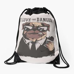 Backpack Bags, Drawstring Backpack, Woven Fabric, Chiffon Tops, My Arts, Backpacks, Art Prints, My Love