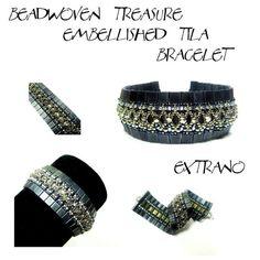 Hoi! Ik heb een geweldige listing gevonden op Etsy https://www.etsy.com/nl/listing/124593790/tutorial-tila-bracelet-embellished-tila