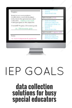 IEP Masterclass - Free data collection solutions for special educators! Learn how to track and organize data while saving time. Imagine having the data tools you need all in one organized space! Special Educators Resource Room