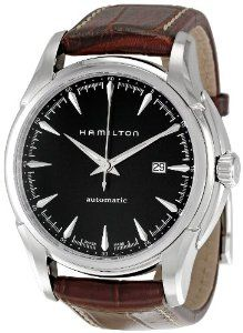 Hamilton Men's H32715531 Jazzmaster Viewmatic Black Dial Watch Hamilton. Save 34 Off!. $522.96. Pin buckle. Black dial. Second hand. Luminous hands; Round case. Water-resistant to 330 feet (100 M)