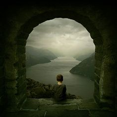 """""""Be empty of worrying. Think of who created thought! Why do you stay in prison When the door is so wide open?"""" ~Rumi ..*"""
