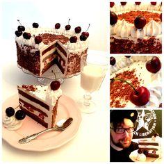 RAW Black Forest Cake ;)  RAW, Vegan , Sugar-Gluten-Milk-Egg-Wheat-Agave-Soyfree ;)   Go Vegan ! After this , try RAW Vegan ;)
