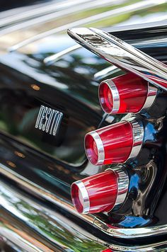 1959 Desoto Adventurer Hardtop Coupe 2-door Taillight Emblem - Car Images by Jill Reger