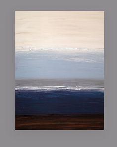 Painting Abstract Modern Art Original Acrylic by OraBirenbaumArt, $385.00