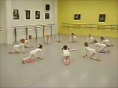 Pre ballet- need to study this for my class!