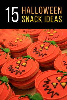 From zombie marshmallows to witch hat cupcakes, we've curated some awe-inspiring Halloween snack ideas that your children can make!