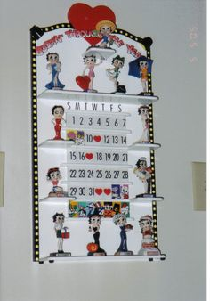 Betty Boop Calendar Photo by AngiePolo_72 | Photobucket - OH I WANT THIS!