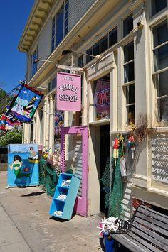 Provincetown shops, credit Tim Grafft/MOTT by Massachusetts Office of Travel & Tourism, via Flickr