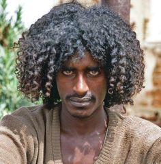Man from Beja tribe. Sudan. The Beja are considered descendants of the ancient Egyptians. samuelernesto.tumblr.com-828 × 840-