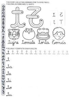 Caderno de letra cursiva para imprimir - Como Fazer Make Tutorial, Diagram, Bullet Journal, Letters, Album, Education, Reading, School, Formulas